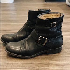 Size 5 FRYE black boots
